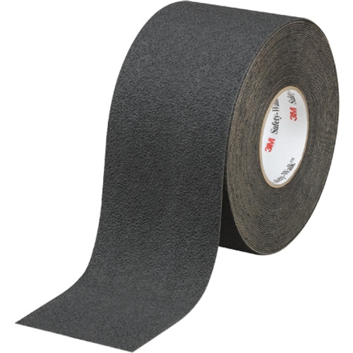 3M Safety-Walk Slip-Resistant Medium Resilient Tape 310, Black, 4 inch x 60 ft Roll