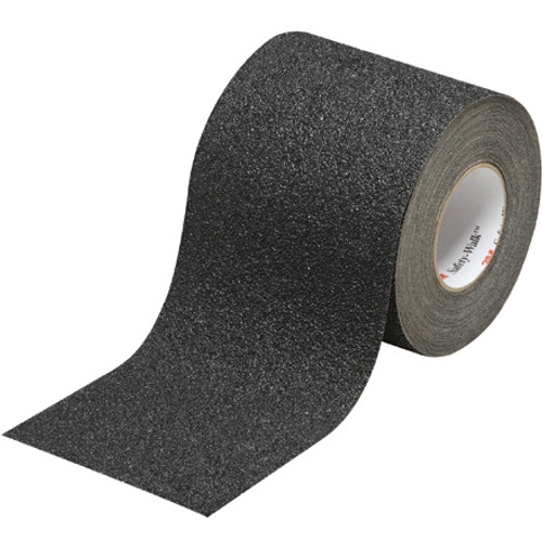 3M Safety-Walk Coarse Tapes and Treads 710 Black 6 inch x 30 ft Roll