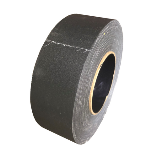 Black Gaffers Tape Factory Seconds 2 inch x 50 yards (Black Core)