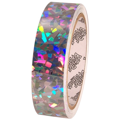 Tape Planet Sparkle Confetti 1 inch x 10 yard Roll Metalized Polyester Tape