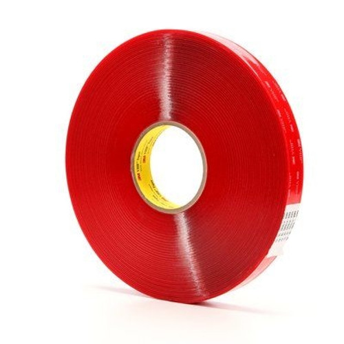 3M 4905 VHB Tape Clear 1/2 inch x 5 yard Roll (20 Mil)