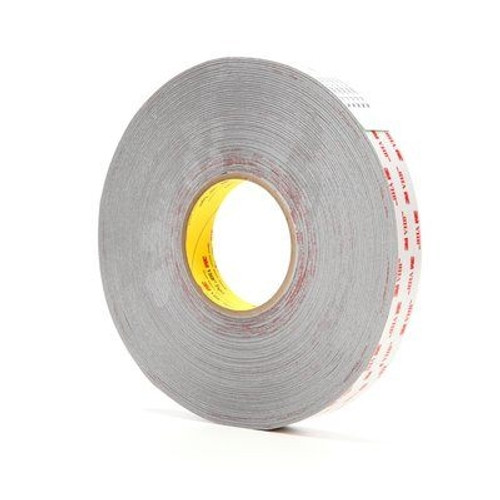 3M 4926 VHB Tape Gray 1/2 inch x 5 yard Roll (15 Mil)