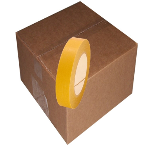 """Double Coated PVC Tape 4420LB Clear 1"""" x 36 yard (48 Roll/Case)"""