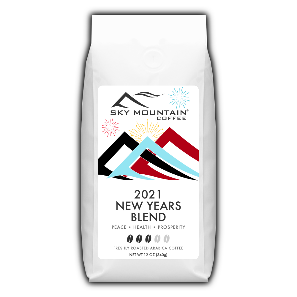 2021 New Years Blend coffee