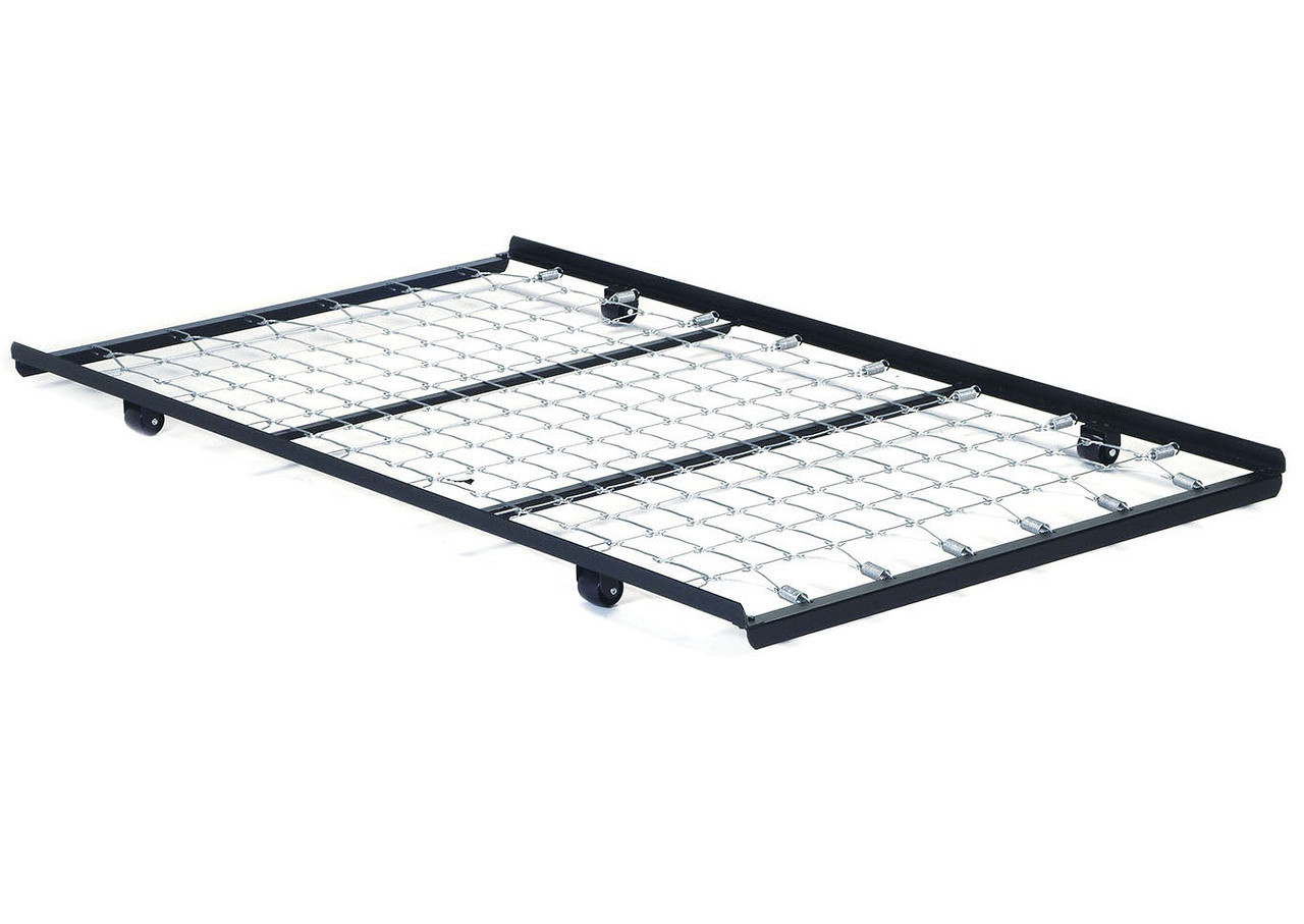 Metal Twin Roll Out Trundle Bed Frame W Link Spring Exquisite