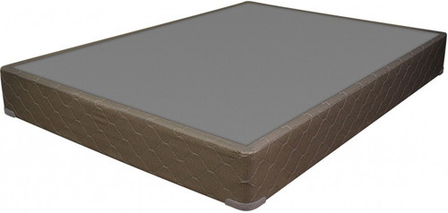 """Sleep like a baby on the Englander Silver full-size mattress foundation and wake up to a new day feeling relaxed and rejuvenated. -9"""" Foundation"""