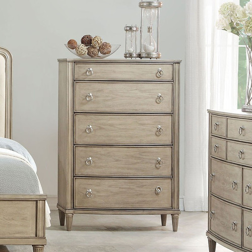 The Wynsor Chest W/ Antique Champagne Finish