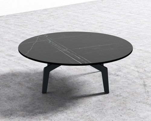Evelyn Coffee Table - Round (Black)