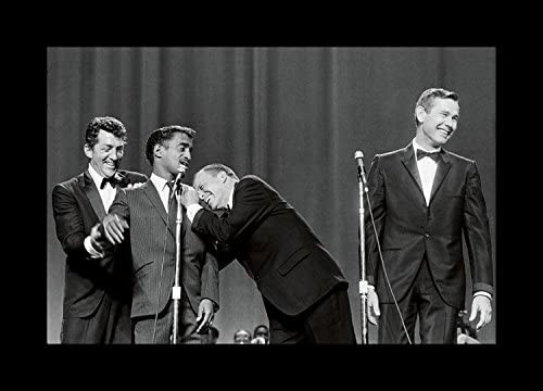 8 x 10 Framed prints Under Glass johnny carson and dean martin