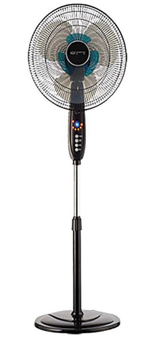 Polar-Aire  53 in. H x 16 in. Dia. 3 speed Electric  Oscillating Dual