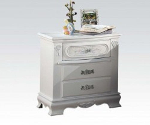 • Drawer: Center Wooden Glide, Dovetail French Front, Felt-Lined Top Drawer