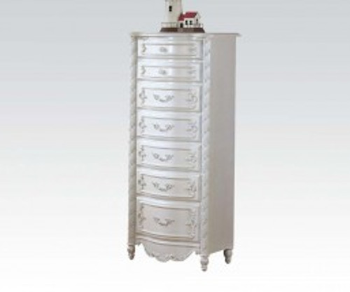 • Drawer: Glide Center Metal, Dovetail Not Included, Felt-Lined Top Drawer