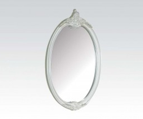 """• Mirror Beveled Oval Mirror Dimensions: 28"""" x 44"""""""