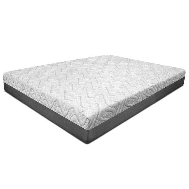 "The Opal mattress collection includes 3 construction layers: 1st layer includes 2"" quick recovery cool memory foam; 2nd layer offers 2"" comfort Foam and the 3rd layer 6"" quick recovery base support foam. It's complemented by Infused Gel Particles that absorbs heat for a cooler and more comfortable feel.  10"" Gel Memory Foam  Rolled and Carton Packing Made in USA 10"" Gel Memory Foam"
