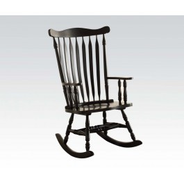Admirable The Kloris Rocking Chair W Black Finish Squirreltailoven Fun Painted Chair Ideas Images Squirreltailovenorg