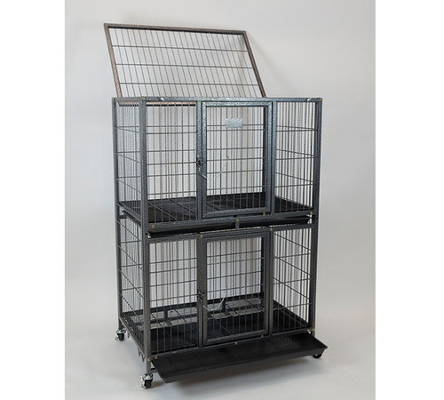 """31"""" 2 Tier Dog cage Kennel"""