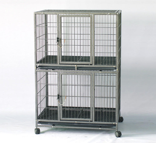 "31"" 2 Tier Dog cage Kennel"