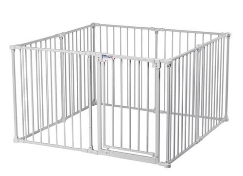 """30"""" Play pen pink-whte"""