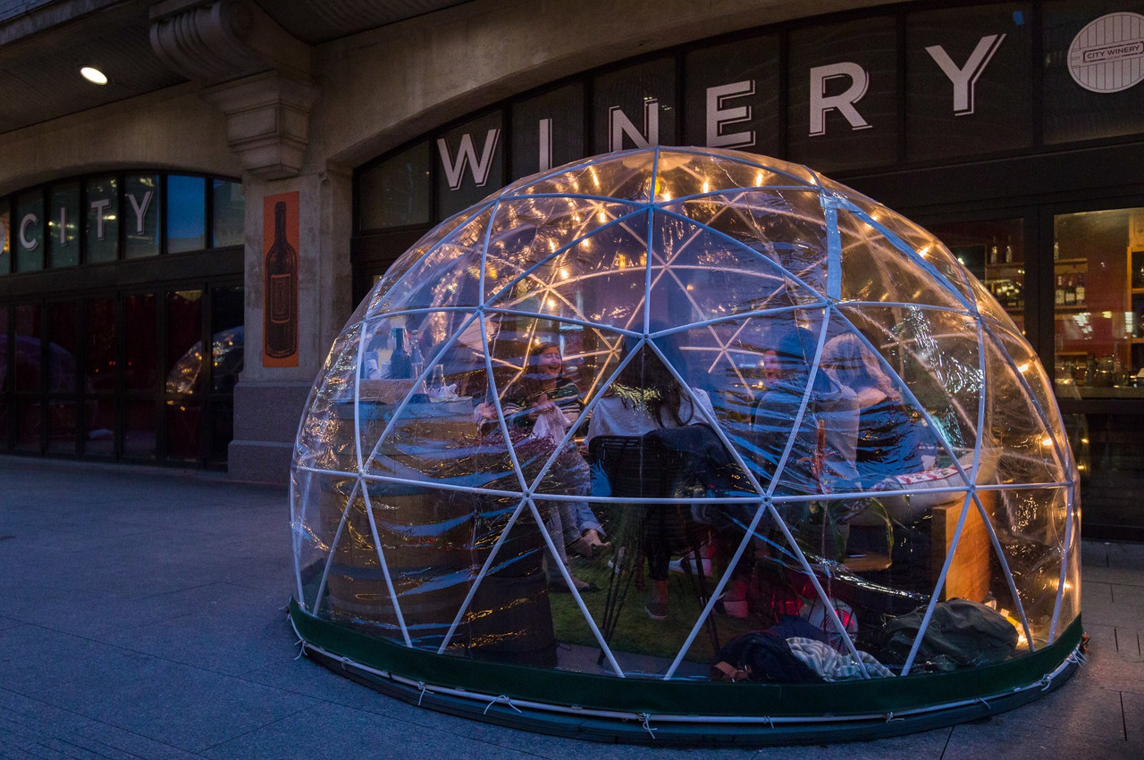 Shelter & Glitzcamp Domes