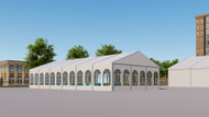 Clearspan Tents for Dining