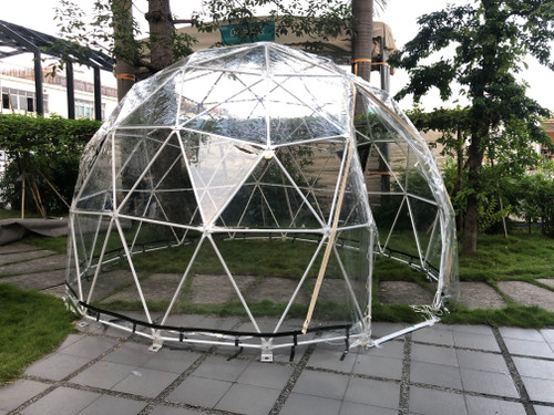 Shelter 4m Cafe Dome for drinking and dining