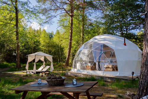 Shelter 7m (23') Glamping Dome
