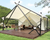 Luxury Wall Tent View