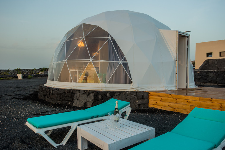 Shelter 6m Glamping Dome