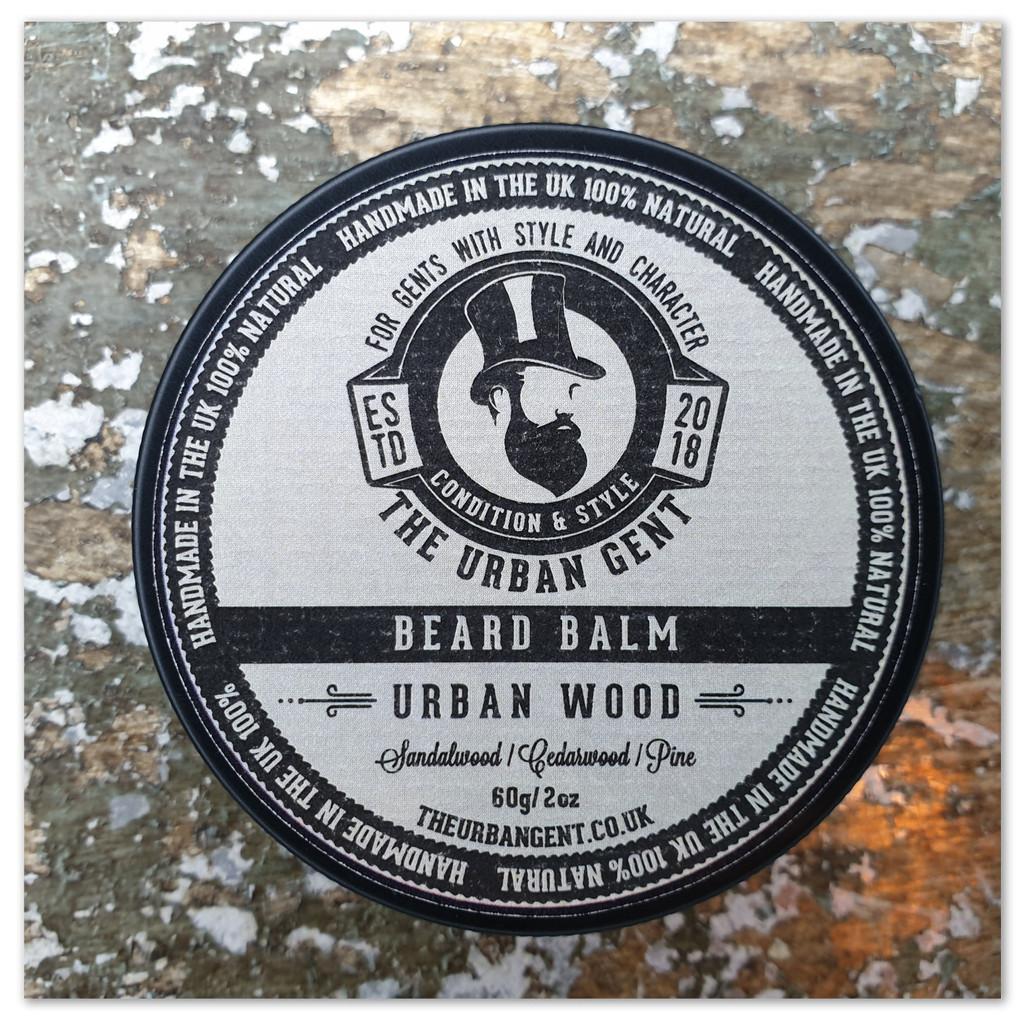 Urban Wood Beard Balm - 60g/2oz