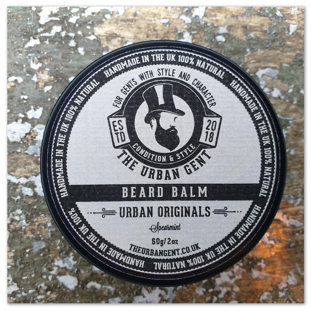 Urban Original Spearmint Beard Balm - 60g/2oz