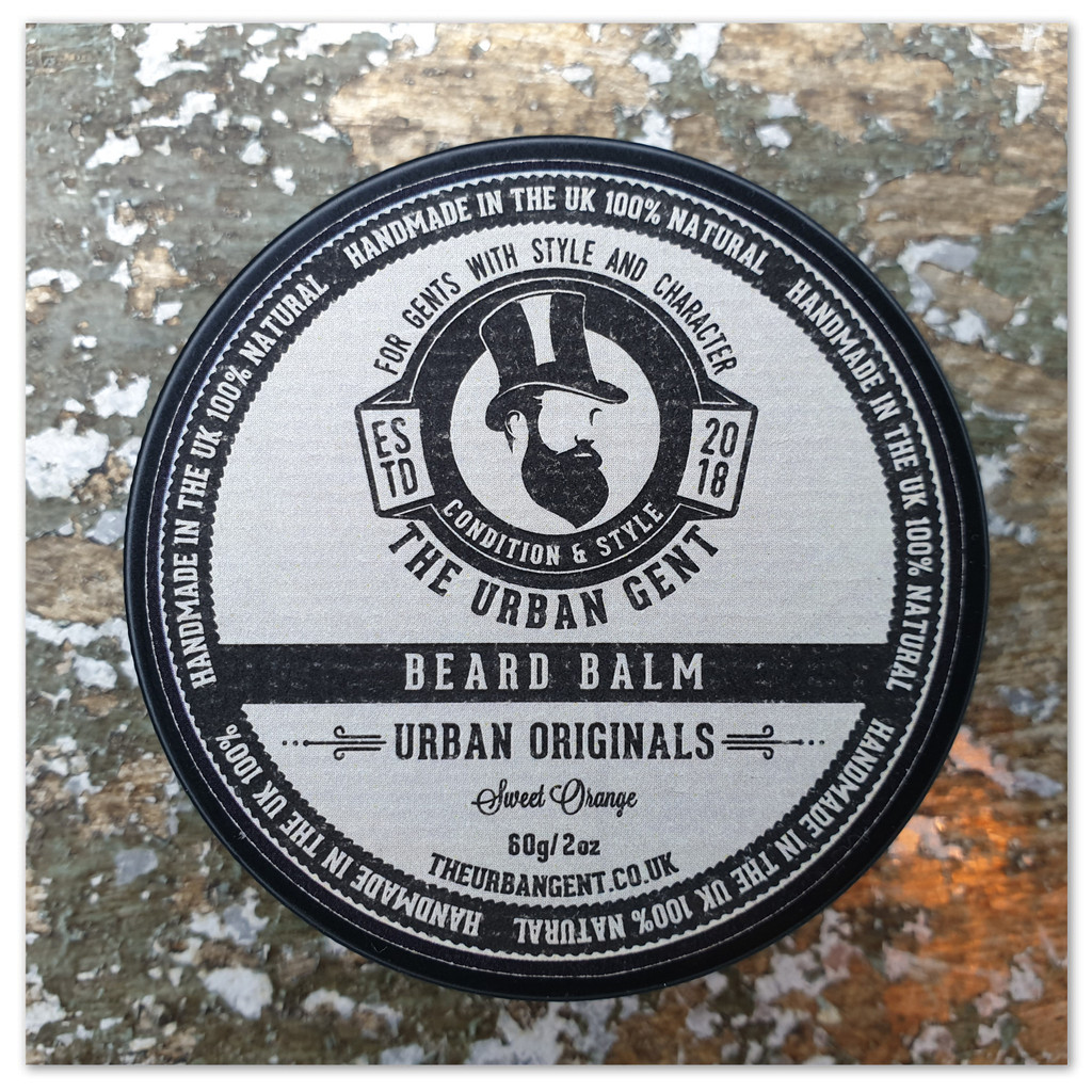 Urban Original Sweet Orange Beard Balm - 60g/2oz