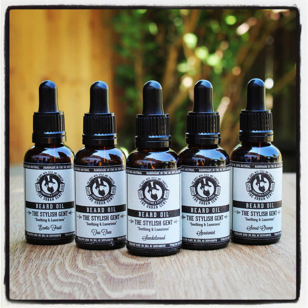 The Stylish Gent - Sweet Orange Beard Oil - 30ml