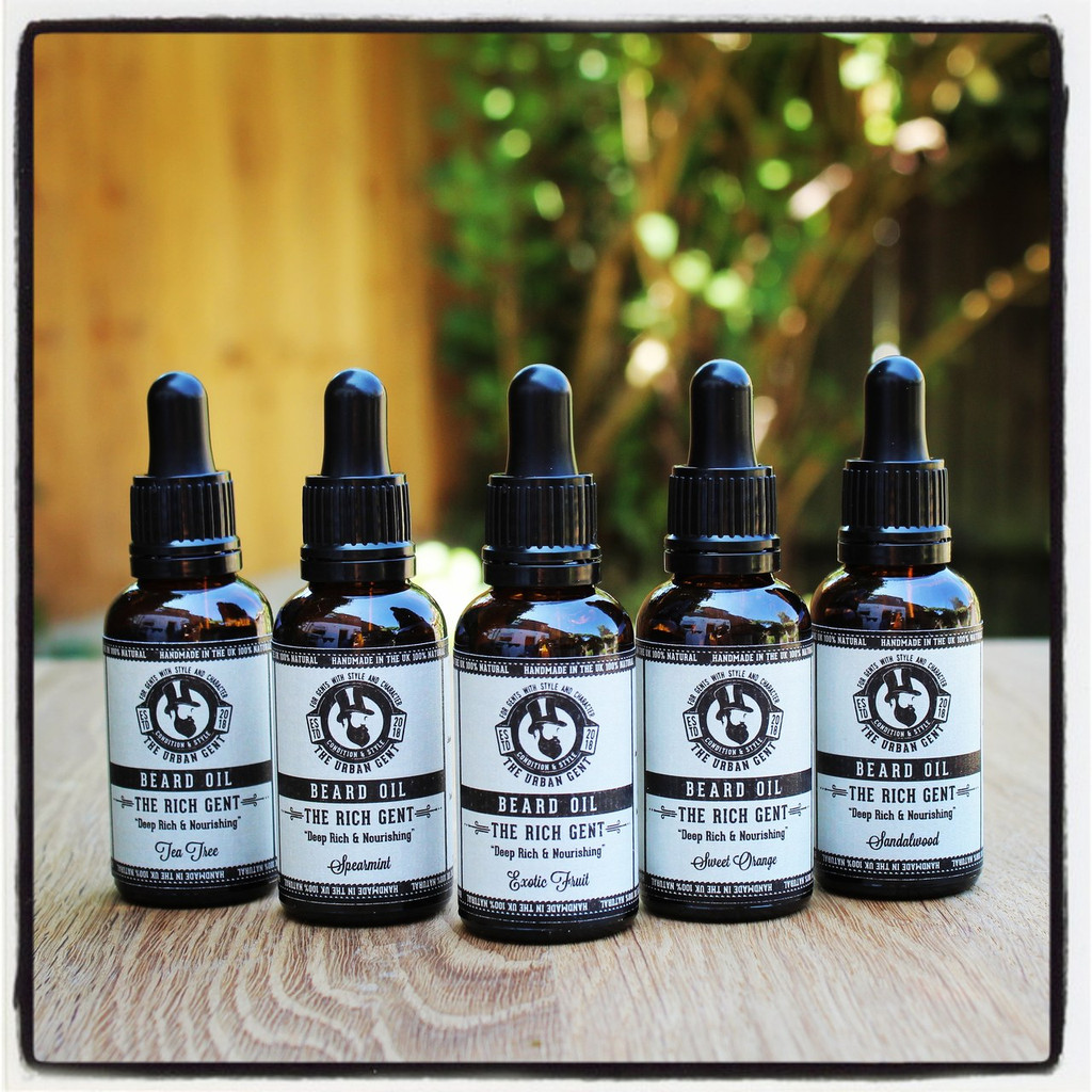 The Rich Gent - Tea Tree Beard Oil - 30ml