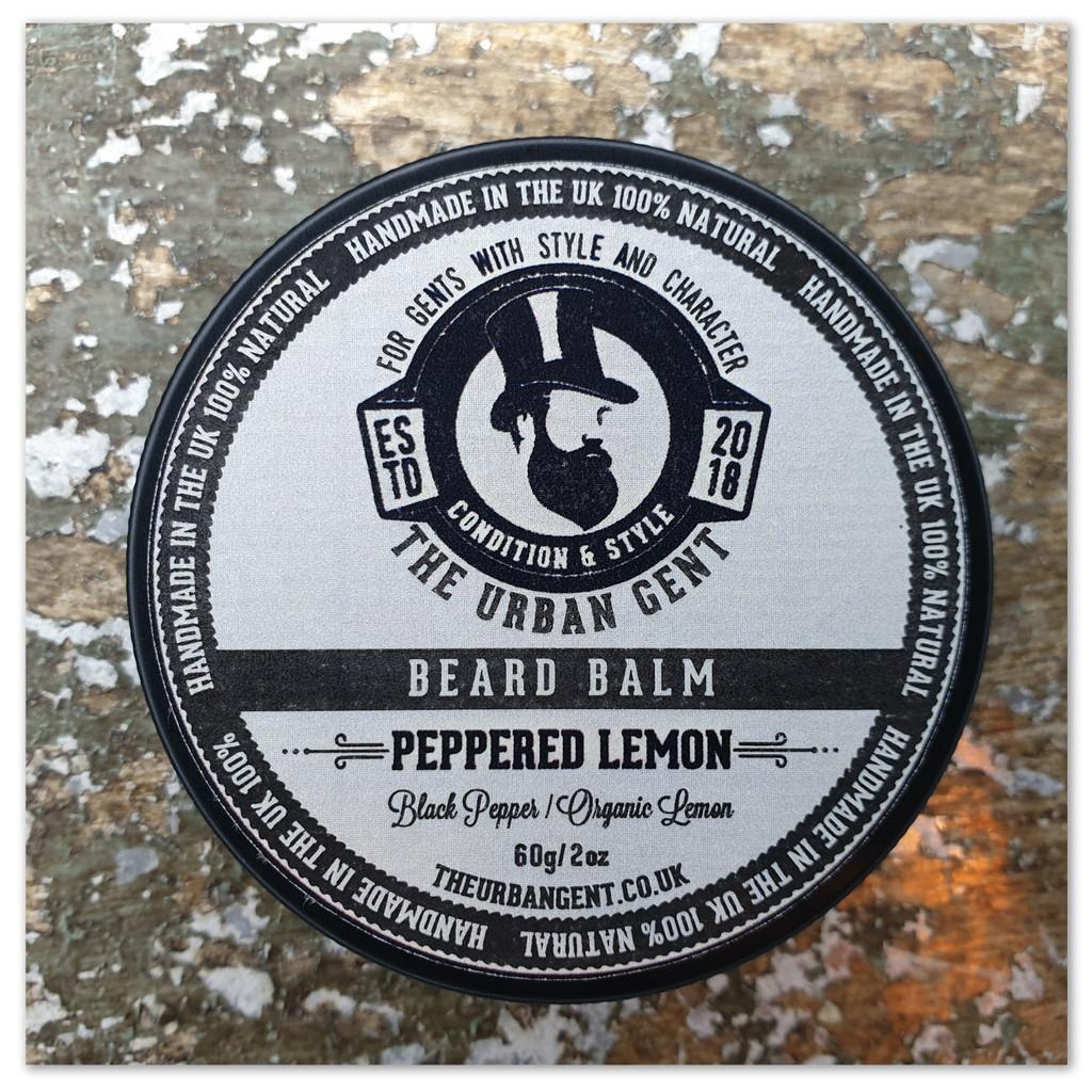 Peppered Lemon Beard Balm - 60g/2oz
