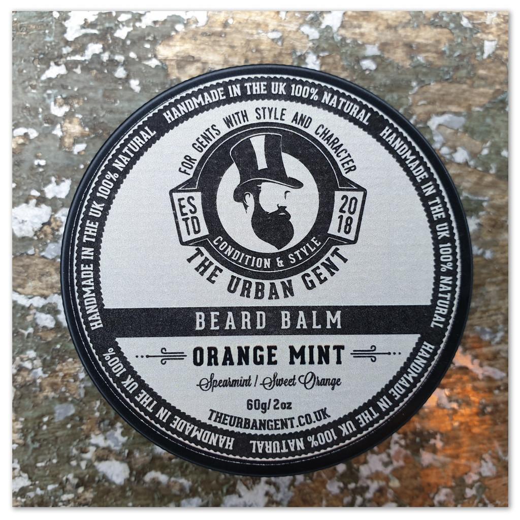 Orange Mint Beard Balm - 60g/2oz