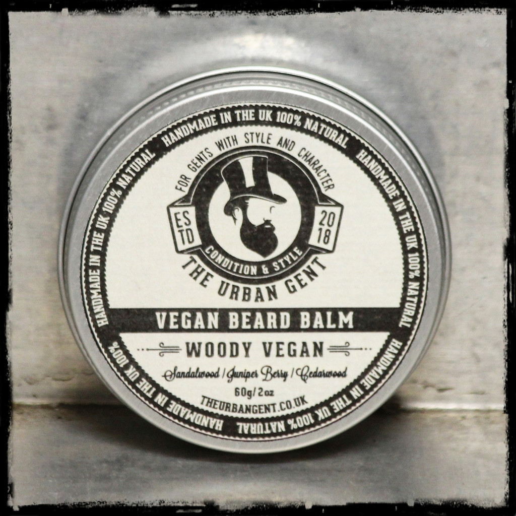 Woody Vegan Beard Balm
