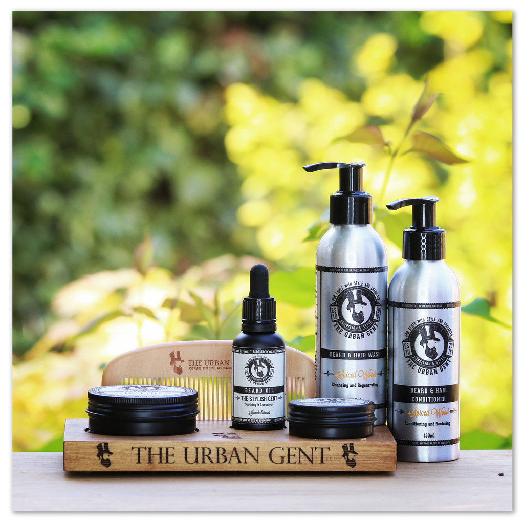 The Spiced Wood Ultimate Grooming Kit