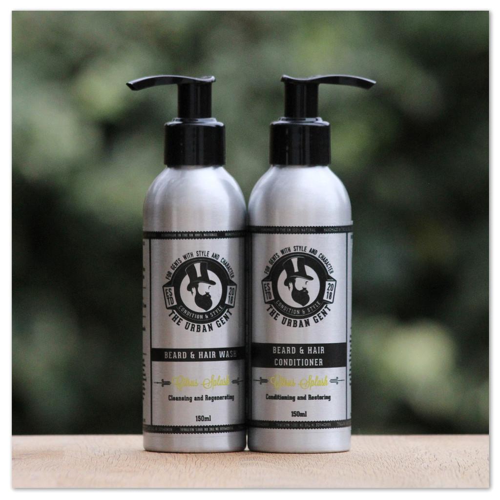 """The """" Citrus Splash """" Shampoo & Conditioner Set"""