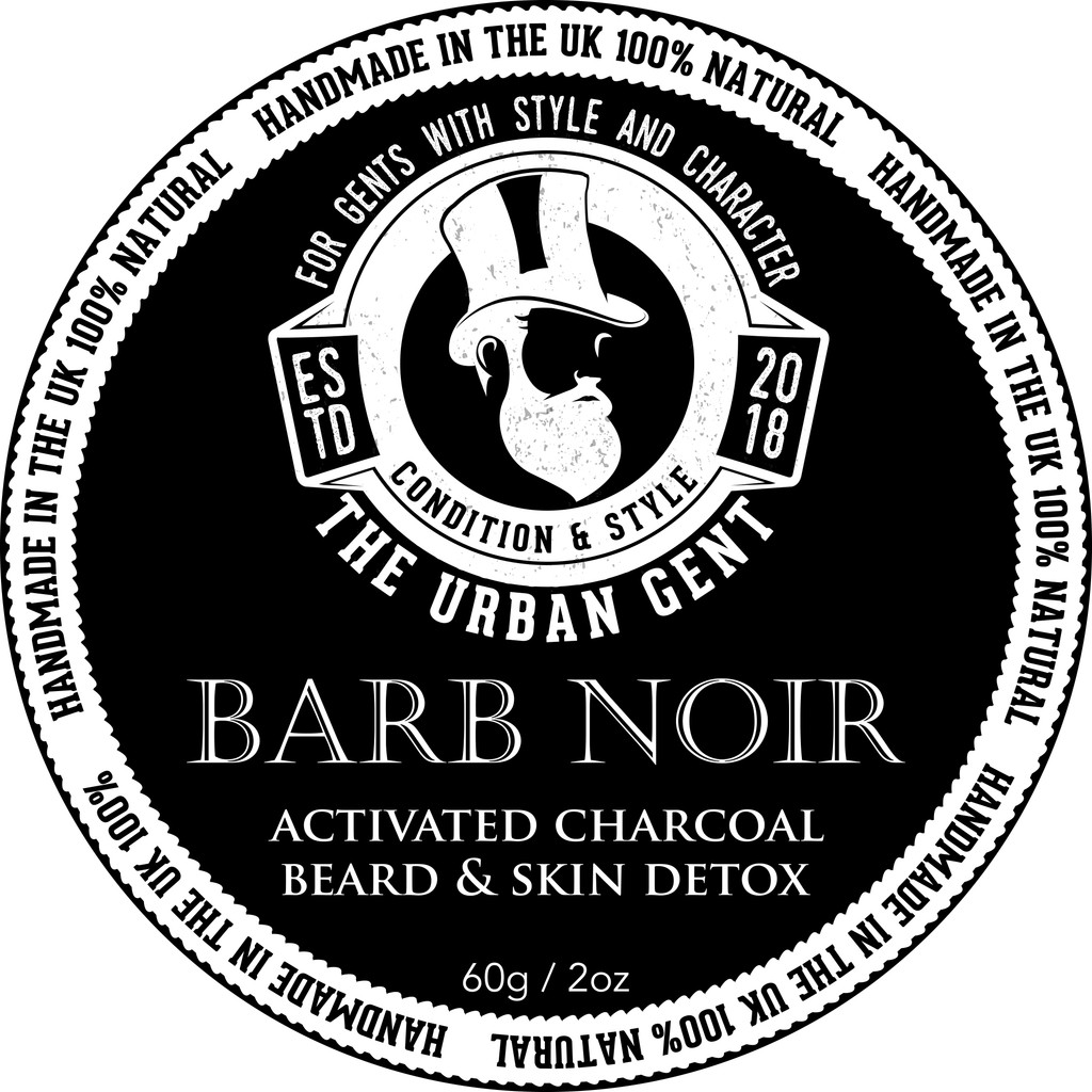 The Barb Noir Beard & Hair Detox Butter 2oz/60ml