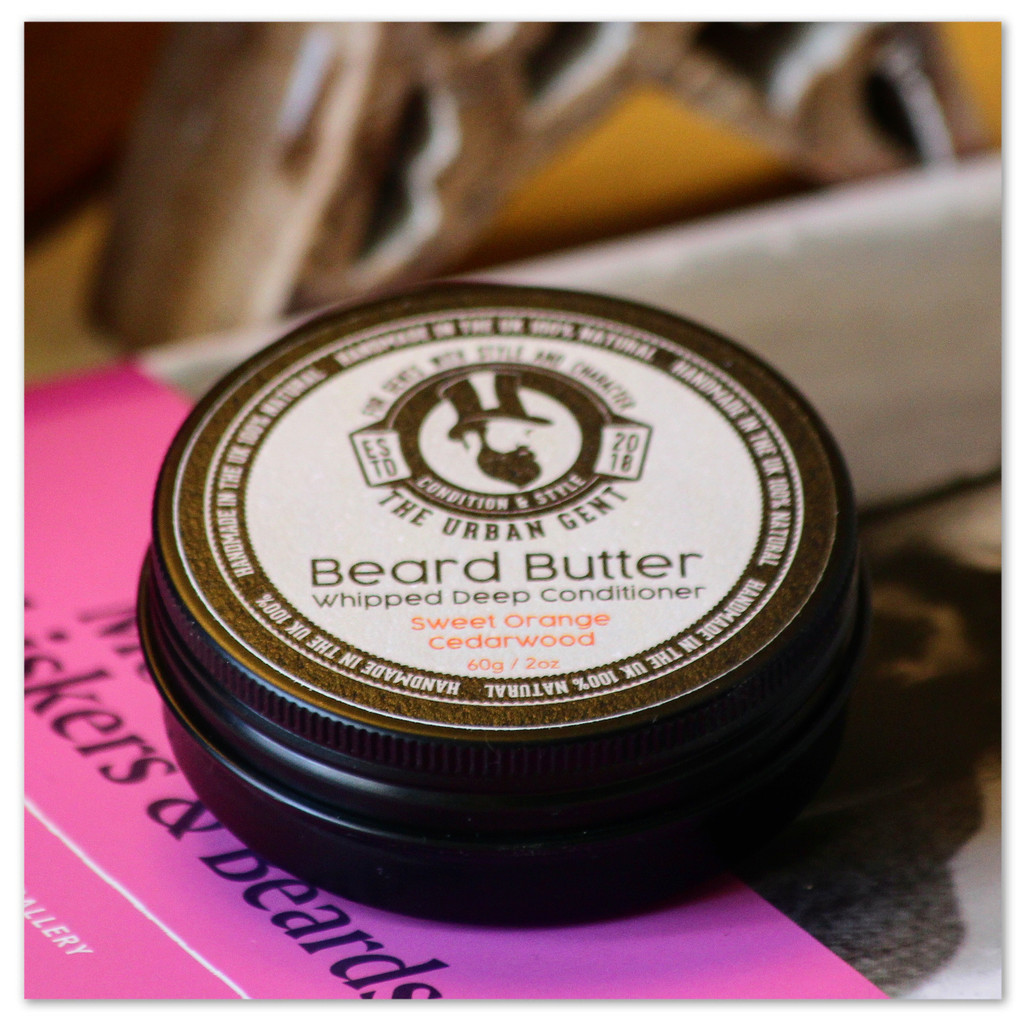 Cedarwood & Sweet Orange Beard Butter 2oz/60ml
