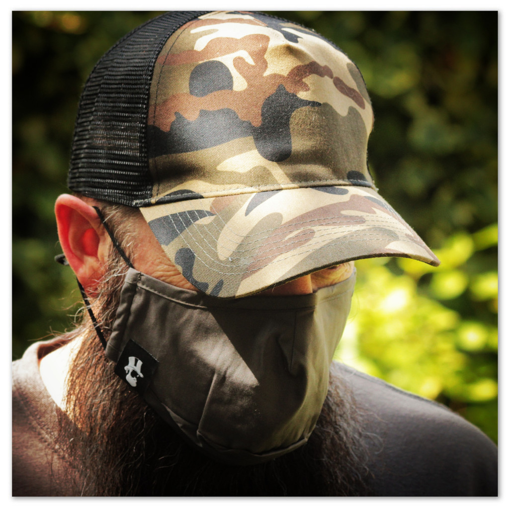 The Urban Gent Washable 3 Layer Face Mask with Carbon Filter Option
