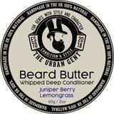 Juniper Berry & lemongrass Beard Butter 2oz/60ml