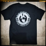 The Urban Gent Heavy Weigh T Shirt - Black