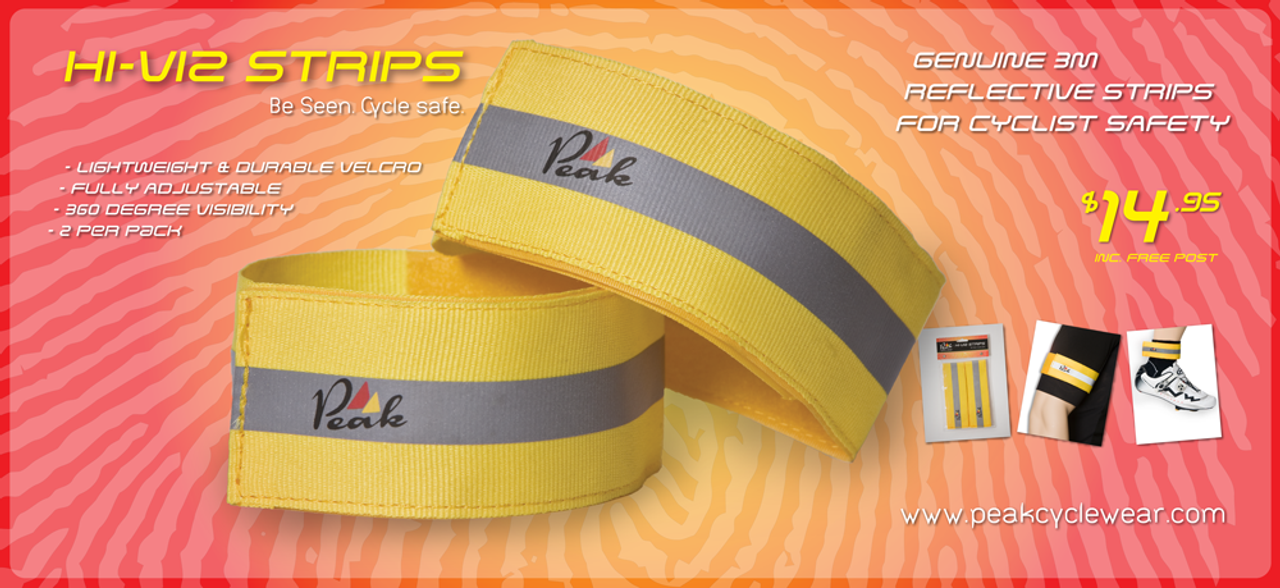FREE Hi Viz Safety Strips with every order