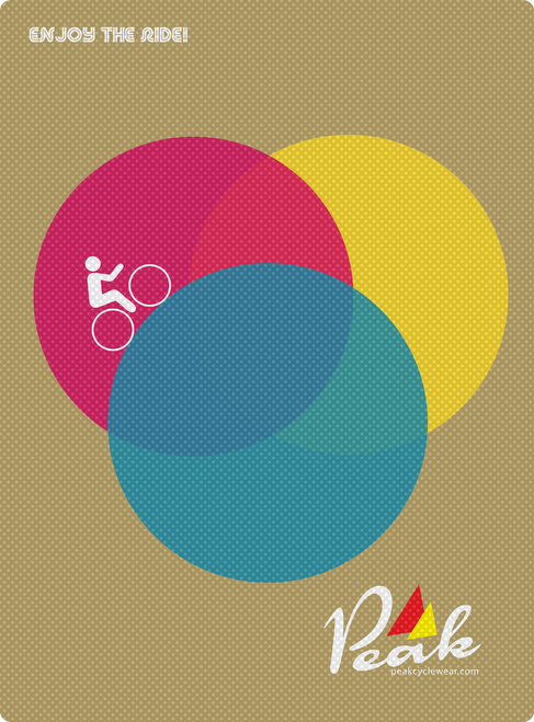 Peak A3 RGB Poster