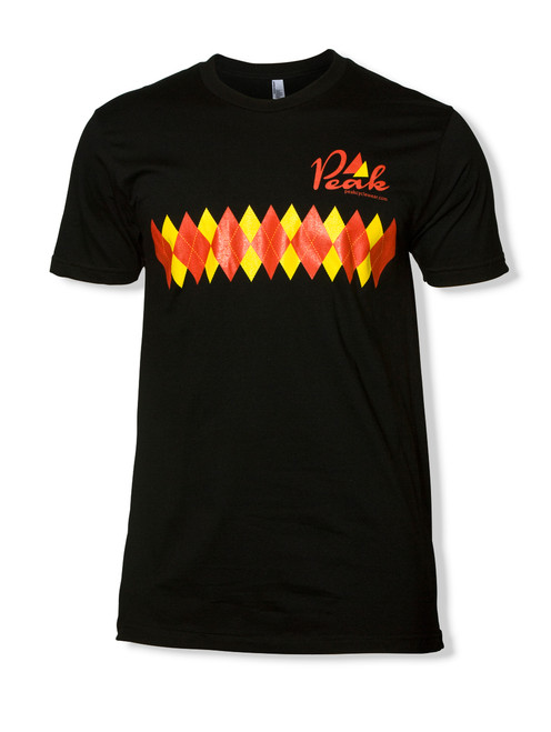 Peak Argyle T in Black.