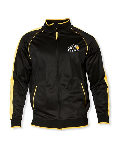 le Tour de France Zip-Thru Jacket in Black