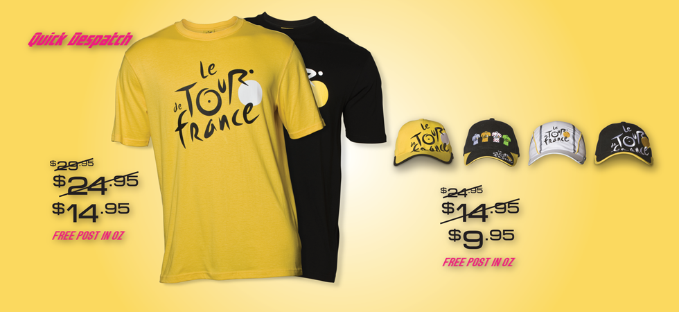 Buy cycling apparel & official Tour de France Clothing