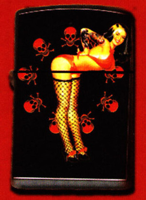 Felon Poison Pin Up Lighter