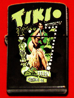 Felon Tiki Peepshow Lighter